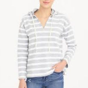 J.CREW FACTORY | Hooded Beach Striped Sweatshirt